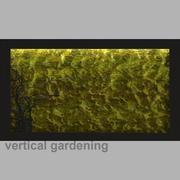 Vertical gardening  moss 3d model