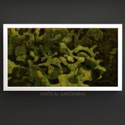 Green graffiti 3d model