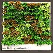 Vertical gardening 3 3d model