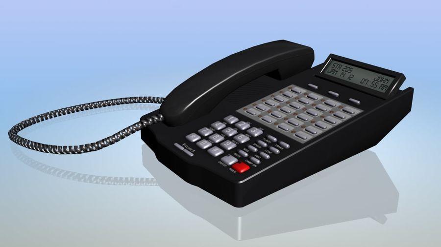 Офисный телефон royalty-free 3d model - Preview no. 3