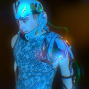 Wojownik z przyszłości 3d model