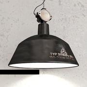 Loft lamp 3d model