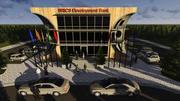 BRICS Development Bank 3d model