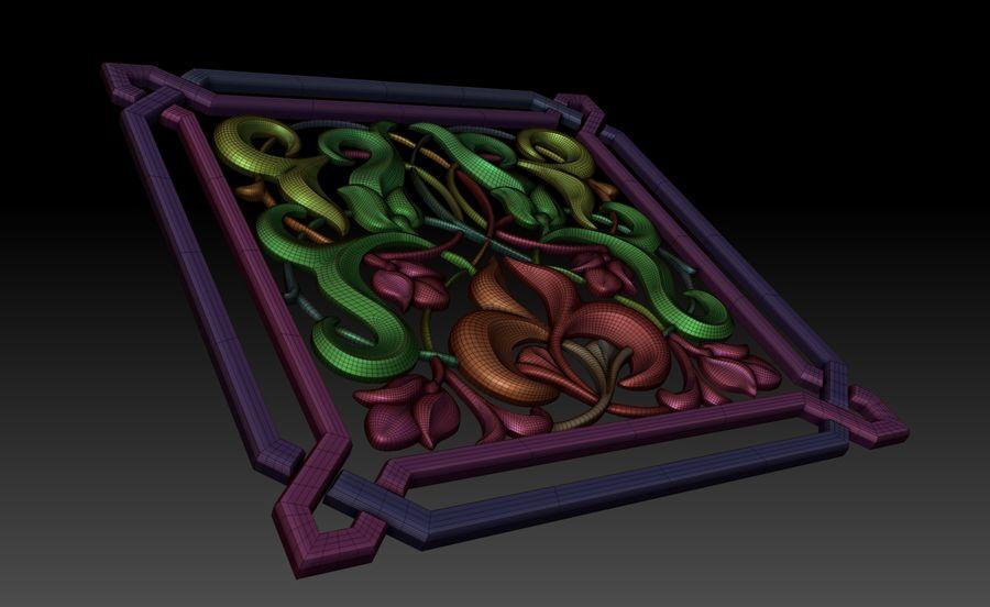 Dekoratif eleman royalty-free 3d model - Preview no. 4