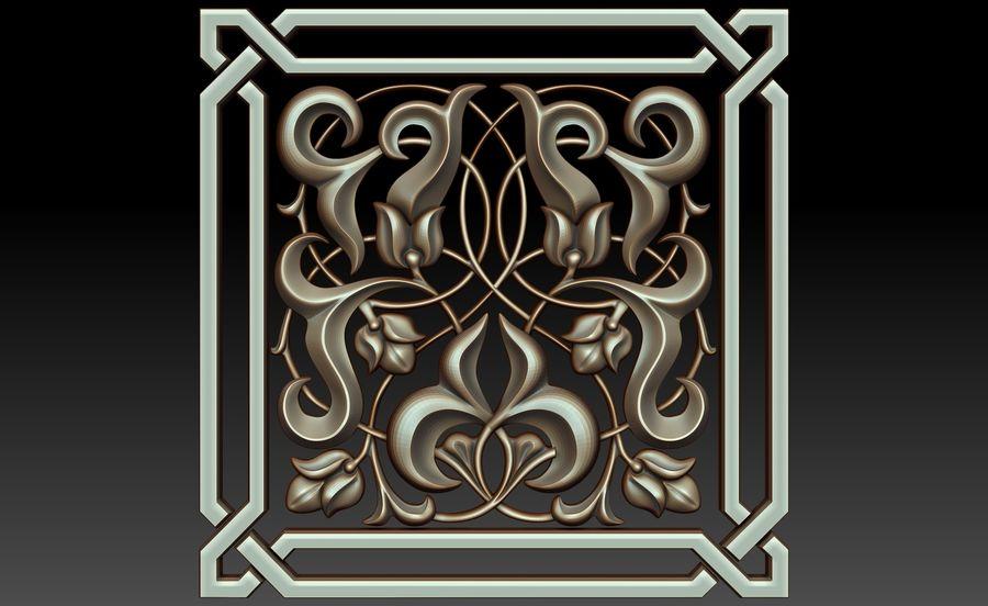 Dekoratif eleman royalty-free 3d model - Preview no. 1