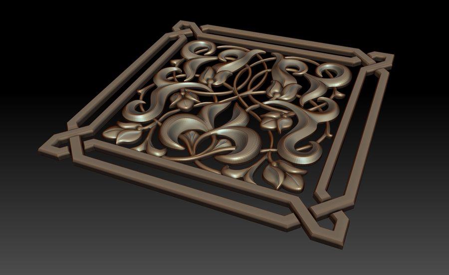 Dekoratif eleman royalty-free 3d model - Preview no. 2