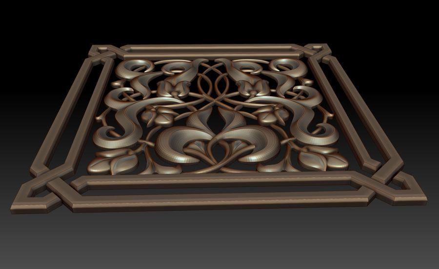 Dekoratif eleman royalty-free 3d model - Preview no. 3