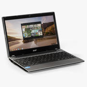 宏cer C7 Chromebook 3d model