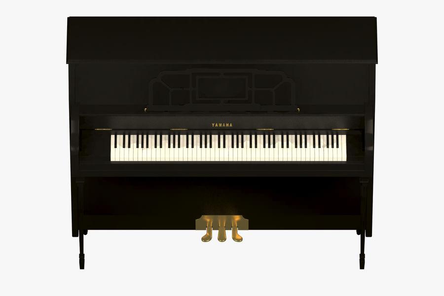 Пианино Yamaha royalty-free 3d model - Preview no. 7