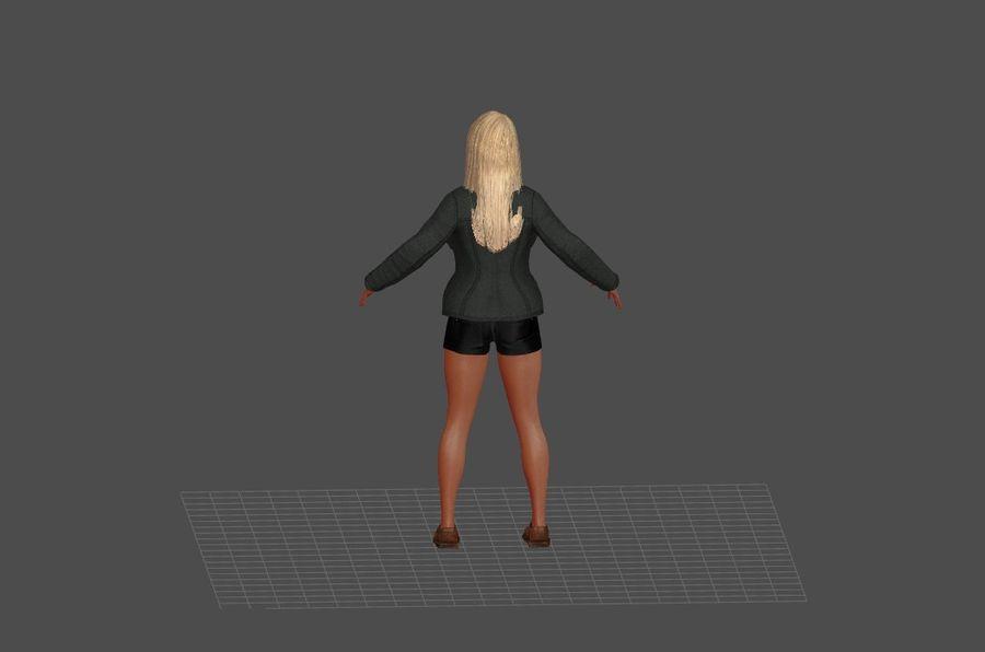 Человеческие Модели Пакет 1 royalty-free 3d model - Preview no. 3