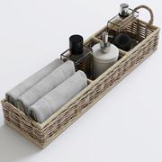 Bathroom decor(1) 3d model