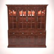 Hutch Cabinet A01 3d model
