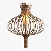 Bud подвесной светильник на открытом воздухе 3d model