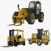 Forklifts 3D Models Collection 3d model