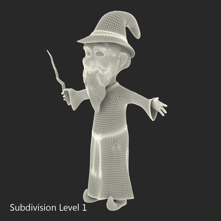 Cartoon Characters Collection royalty-free 3d model - Preview no. 58