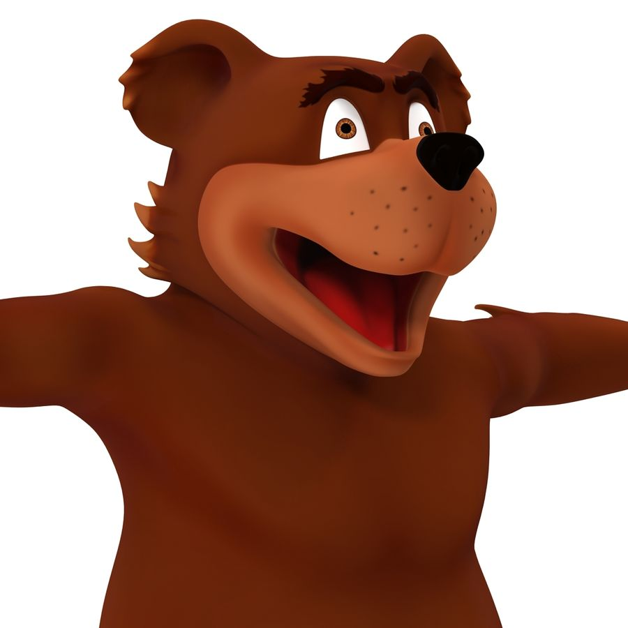 Cartoon Characters Collection royalty-free 3d model - Preview no. 27
