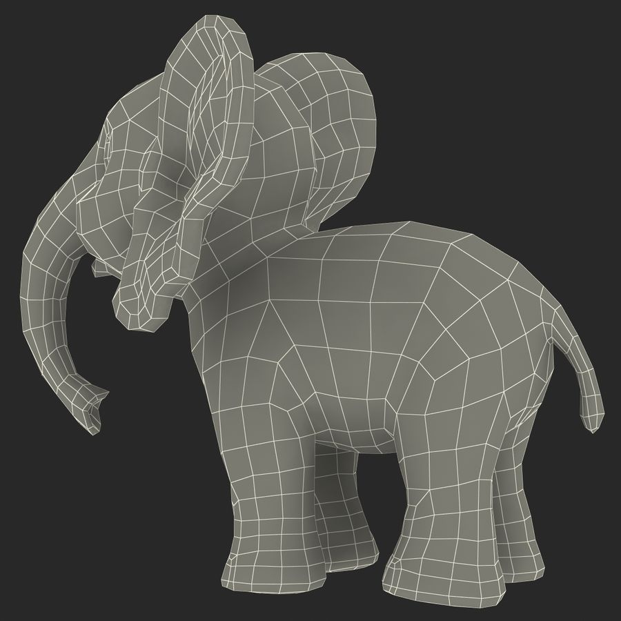 Cartoon Characters Collection royalty-free 3d model - Preview no. 77