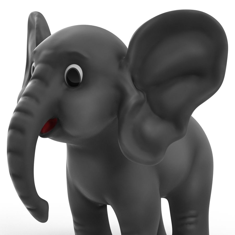 Cartoon Characters Collection royalty-free 3d model - Preview no. 16