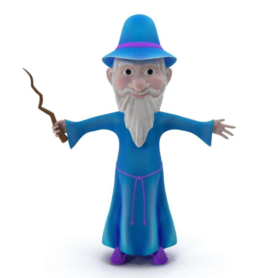 Cartoon Characters Collection royalty-free 3d model - Preview no. 39