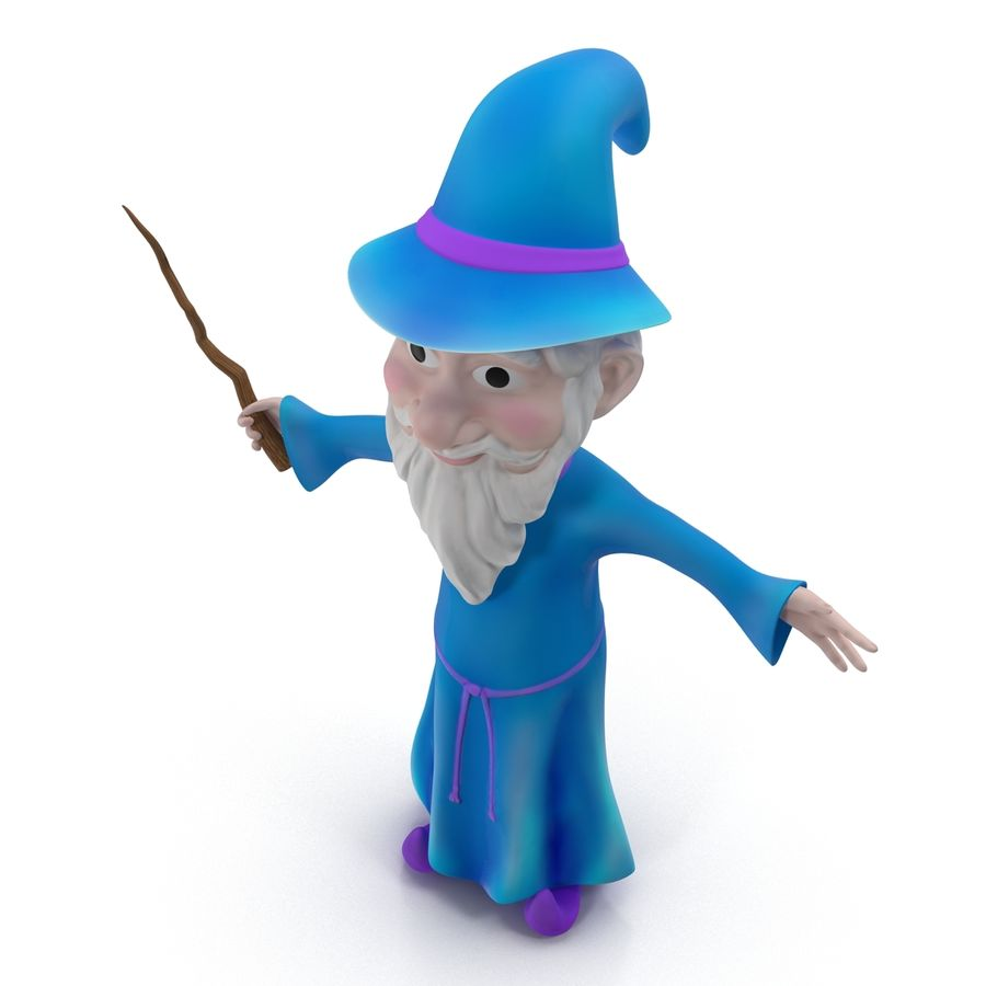 Cartoon Characters Collection royalty-free 3d model - Preview no. 45