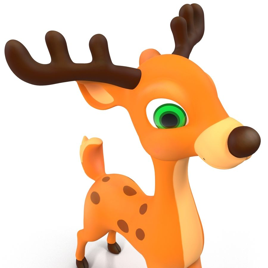Cartoon Characters Collection royalty-free 3d model - Preview no. 36
