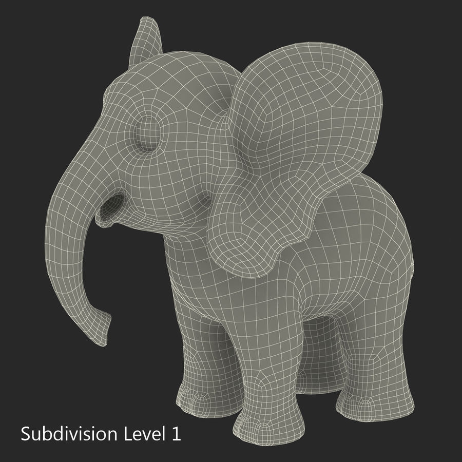 Cartoon Characters Collection royalty-free 3d model - Preview no. 54