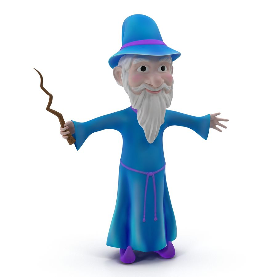Cartoon Characters Collection royalty-free 3d model - Preview no. 38