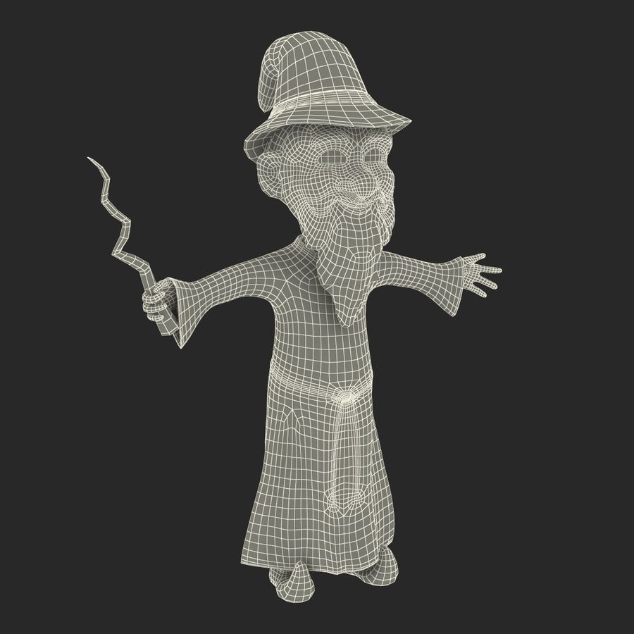 Cartoon Characters Collection royalty-free 3d model - Preview no. 82