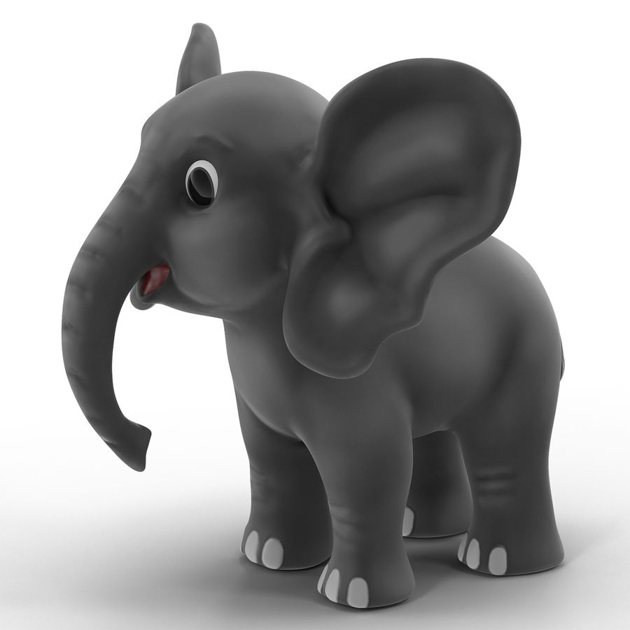 Cartoon Characters Collection royalty-free 3d model - Preview no. 8