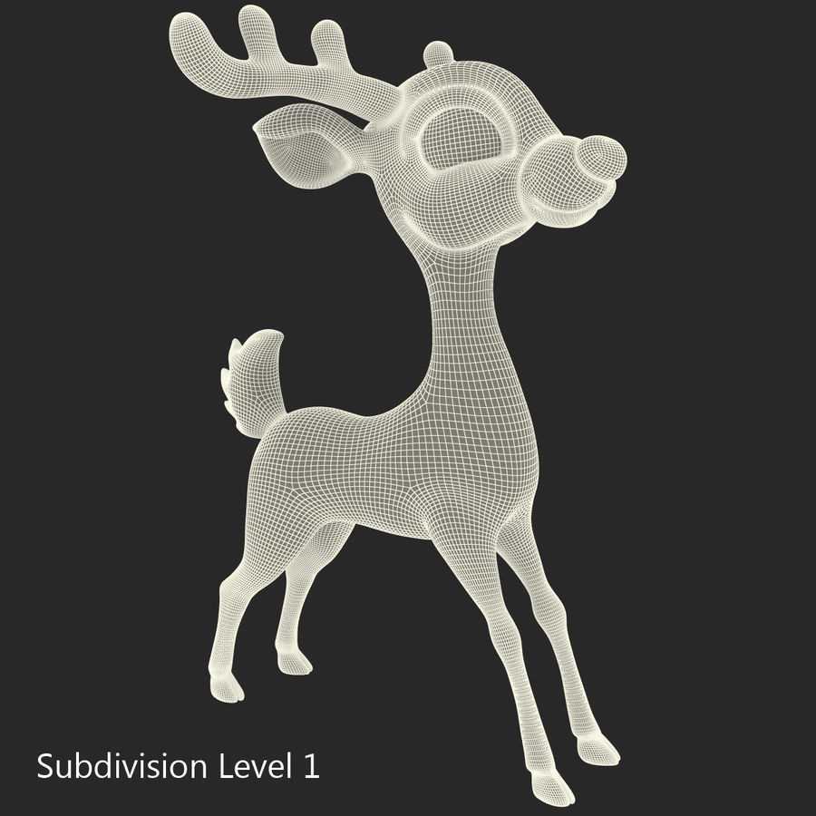Cartoon Characters Collection royalty-free 3d model - Preview no. 56