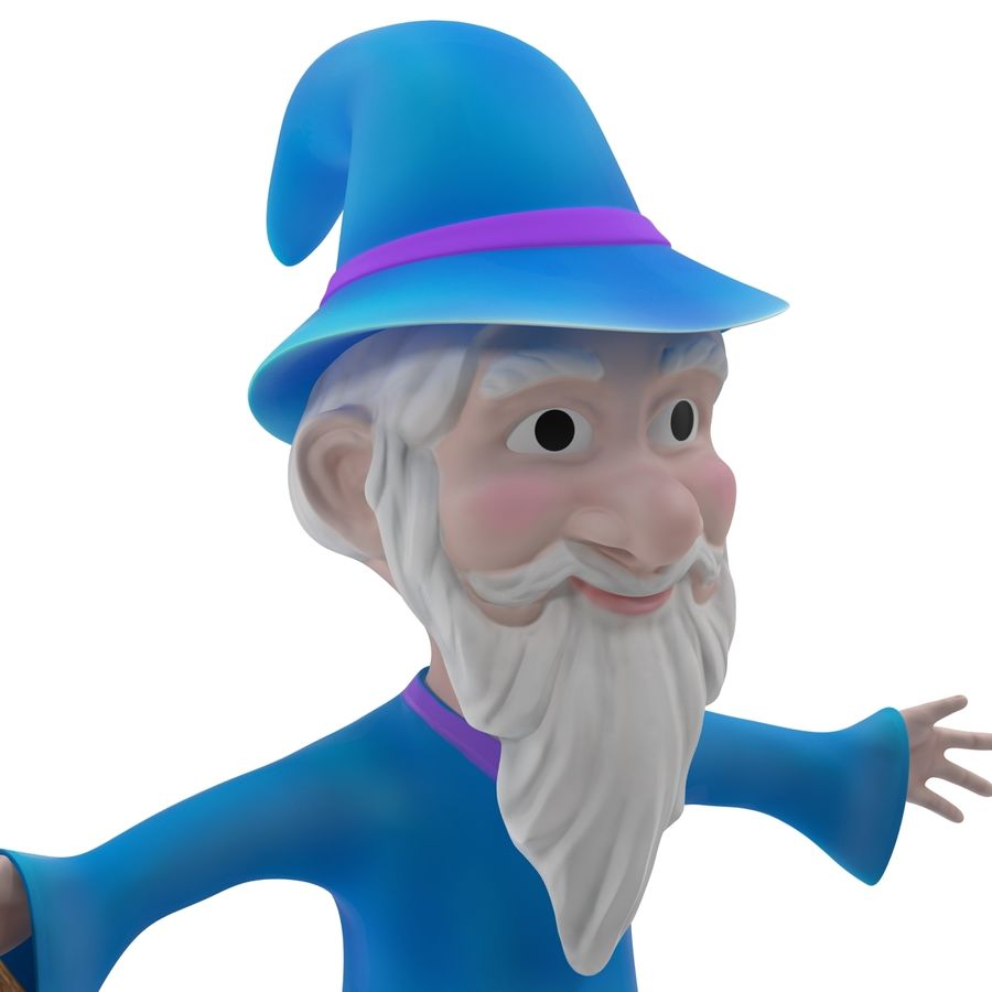 Cartoon Characters Collection royalty-free 3d model - Preview no. 47