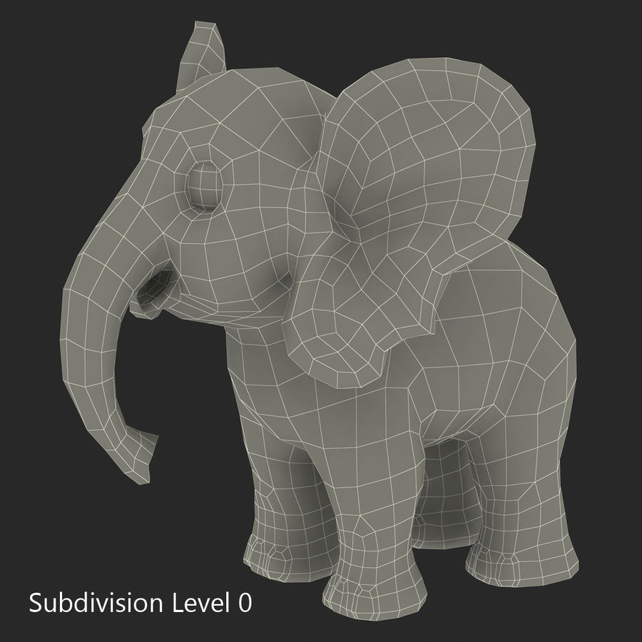 Cartoon Characters Collection royalty-free 3d model - Preview no. 53