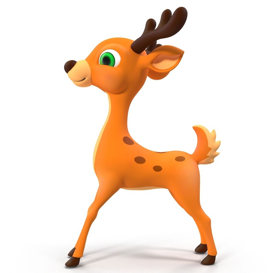 Cartoon Characters Collection royalty-free 3d model - Preview no. 35
