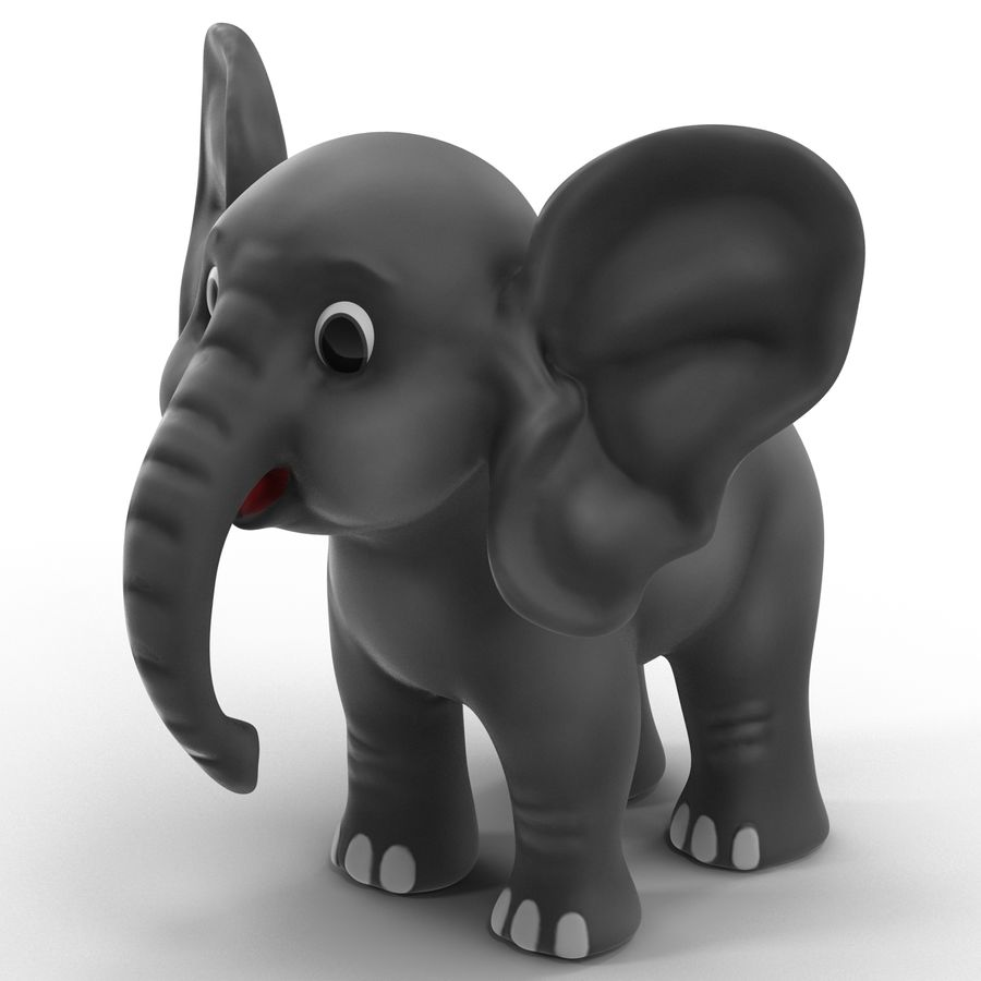 Cartoon Characters Collection royalty-free 3d model - Preview no. 10