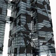 未来的な超高層ビル4 3d model