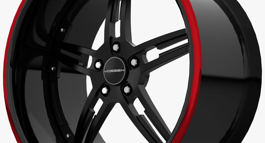 Rims Pack - Asanti & HRE & Vossen & Vorsteiner royalty-free 3d model - Preview no. 26