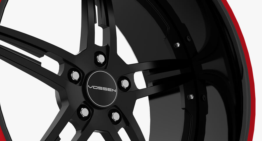 Rims Pack - Asanti & HRE & Vossen & Vorsteiner royalty-free 3d model - Preview no. 27