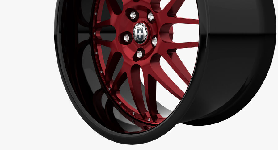 Rims Pack - Asanti & HRE & Vossen & Vorsteiner royalty-free 3d model - Preview no. 20
