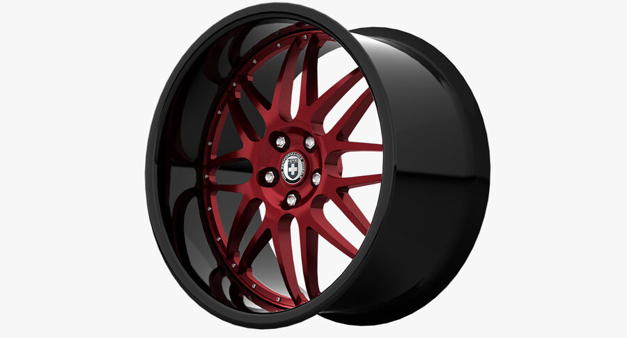 Rims Pack - Asanti & HRE & Vossen & Vorsteiner royalty-free 3d model - Preview no. 19