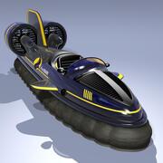 Hovercraft II 3d model