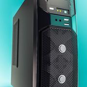 Stationär dator - Gigabyte GZ-G1-chassi 3d model