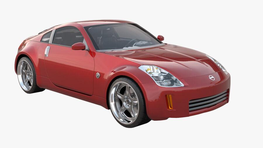 350Z royalty-free 3d model - Preview no. 1