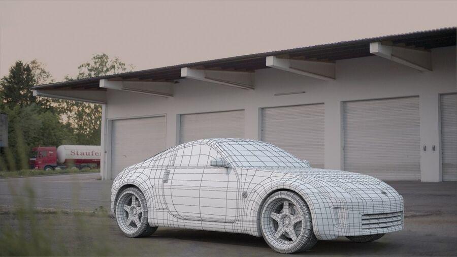 350Z royalty-free 3d model - Preview no. 3