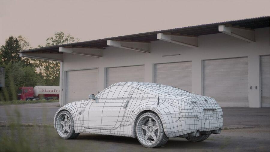 350Z royalty-free 3d model - Preview no. 5