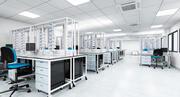 Medicinskt laboratorium 3d model
