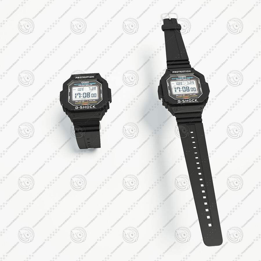 G-Shock royalty-free 3d model - Preview no. 1