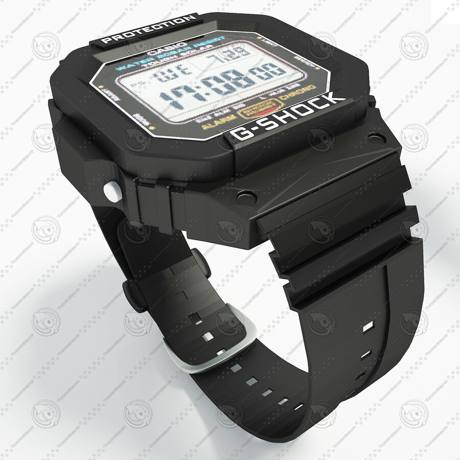 G-Shock royalty-free 3d model - Preview no. 2