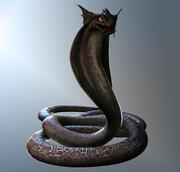Serpent 3d model