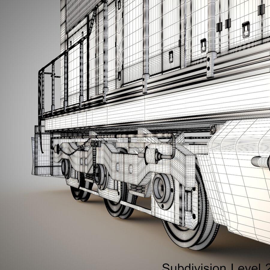 貨物列車エンジン royalty-free 3d model - Preview no. 18