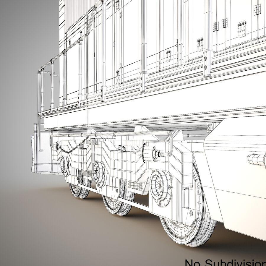 貨物列車エンジン royalty-free 3d model - Preview no. 12